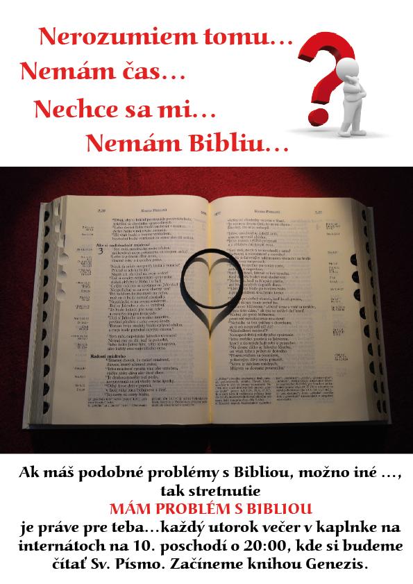 Mam problem s bibliou